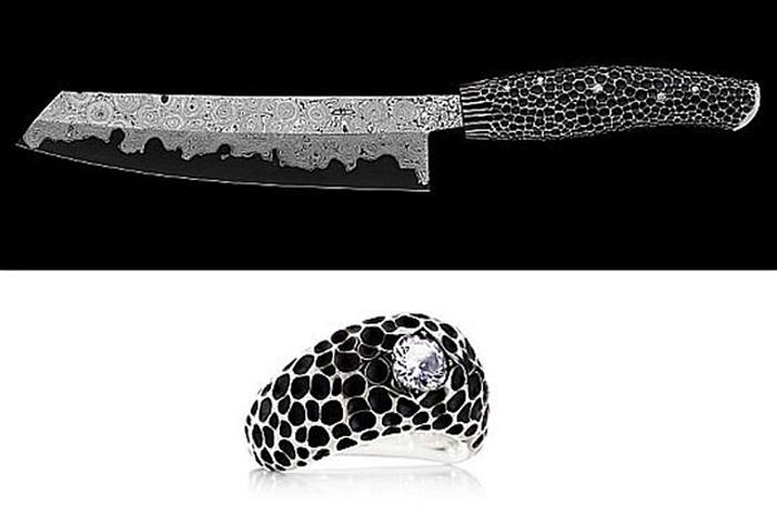 Nesmuk Diamond Studded Knife – Price: $39,600