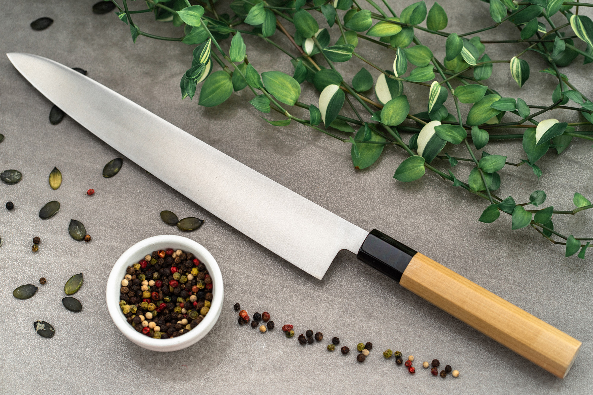Yoshihiro Yamawaki Sujihiki 270mm AUS8 japanese kitchen knives