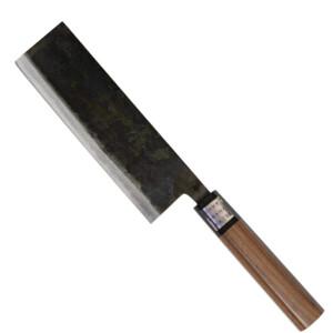moritaka nakiri japanese kitchen knife hamono 165mm