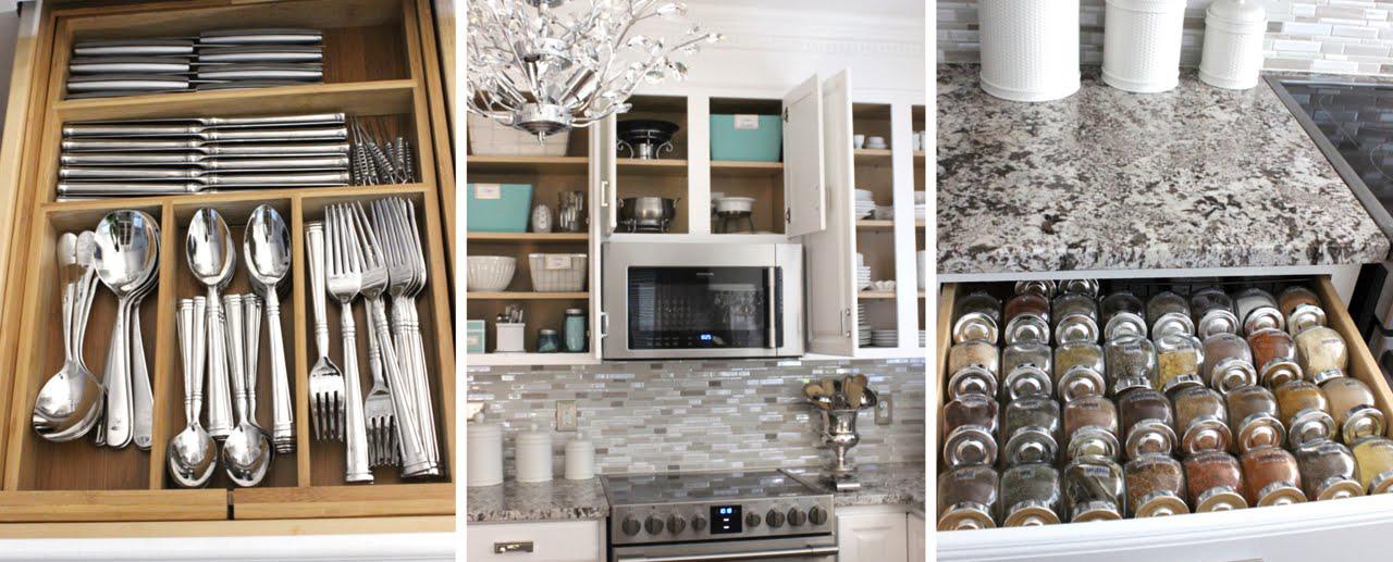organised kitchen
