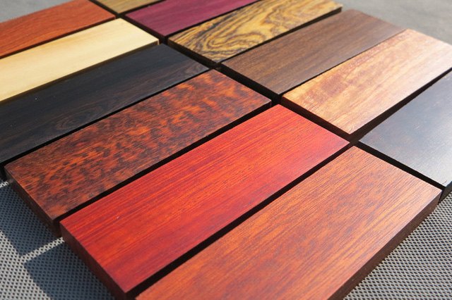 kitchen knife handles wood