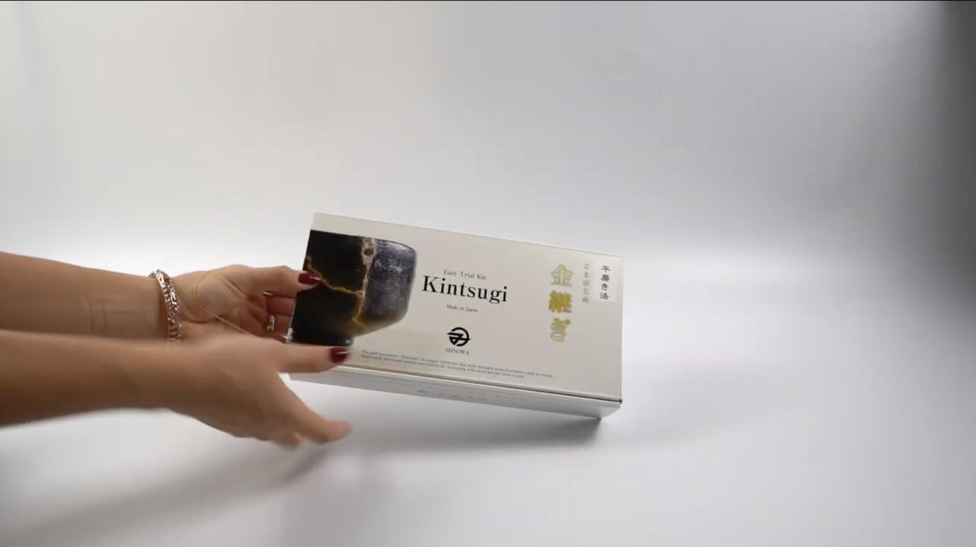 Kintsugi DIY Reparatur-Kit- Produkt-Video unboxing