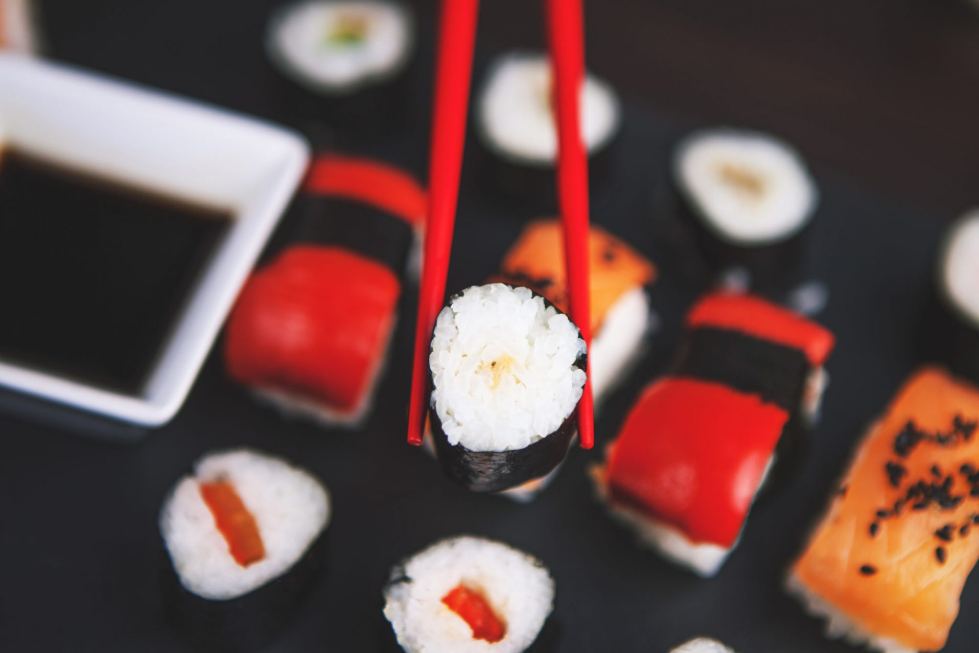 Sushi japanese chopsticks gifts present