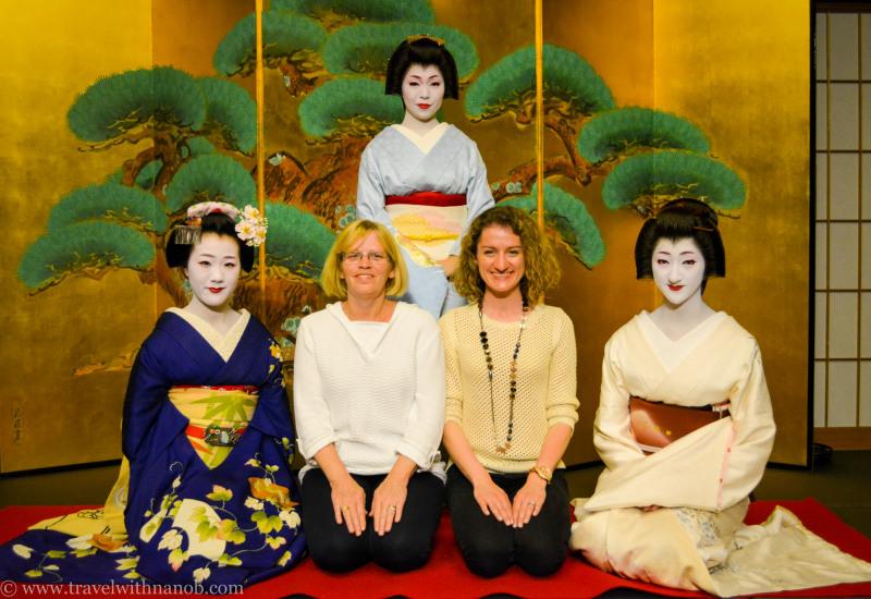 geisha dinner kyoto tokyo japanese gift christmas authentic experience