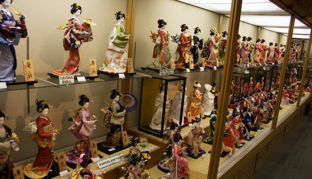 kyoto geisha dolls japanese gift