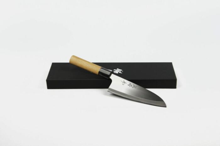 X Deba 150mm Shirogami 2 3