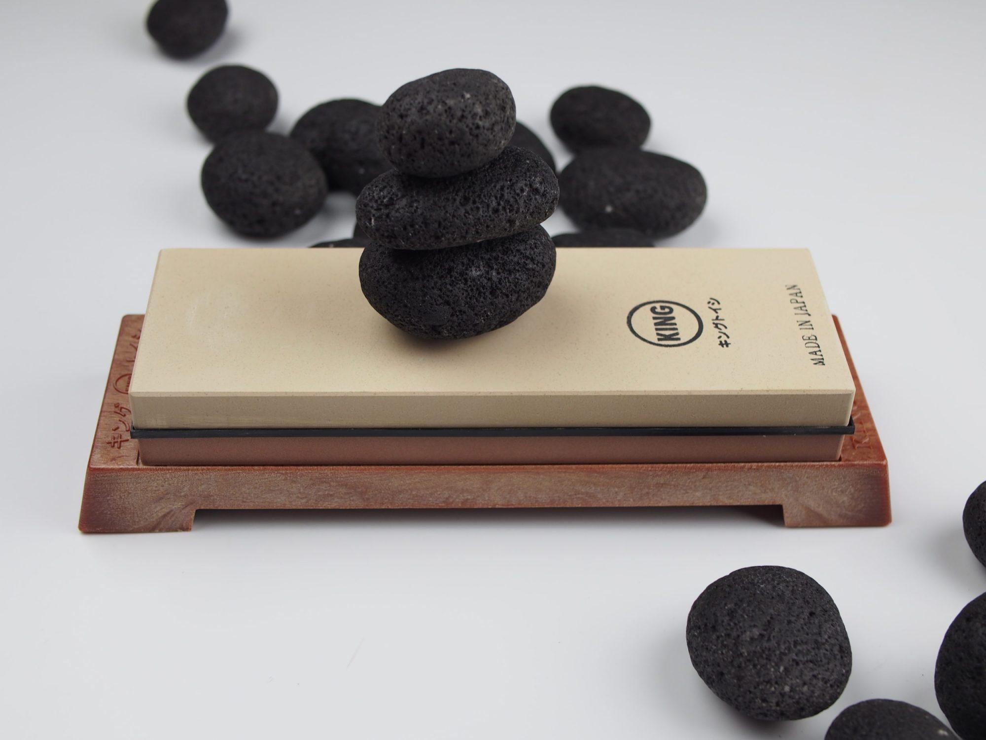 japanese waterstone king sharpening stone 1000/6000 combo