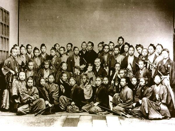 many samurai