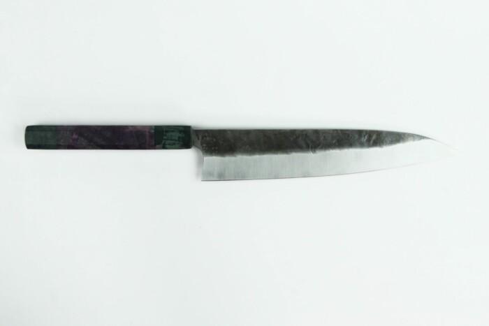 Kaminari Gyuto 210mm High Carbon Custom Handle