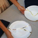 KINTSUGI FINE BONE TABLEWARE PORCELAIN X JAPANA – SET OF 2
