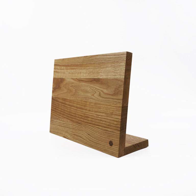 Magnetic Knife Stand For Kitchen Knives Wooden Oak