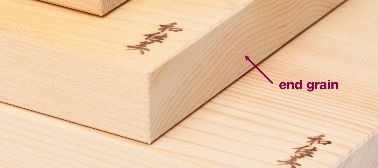 end grain cutting board chopping board