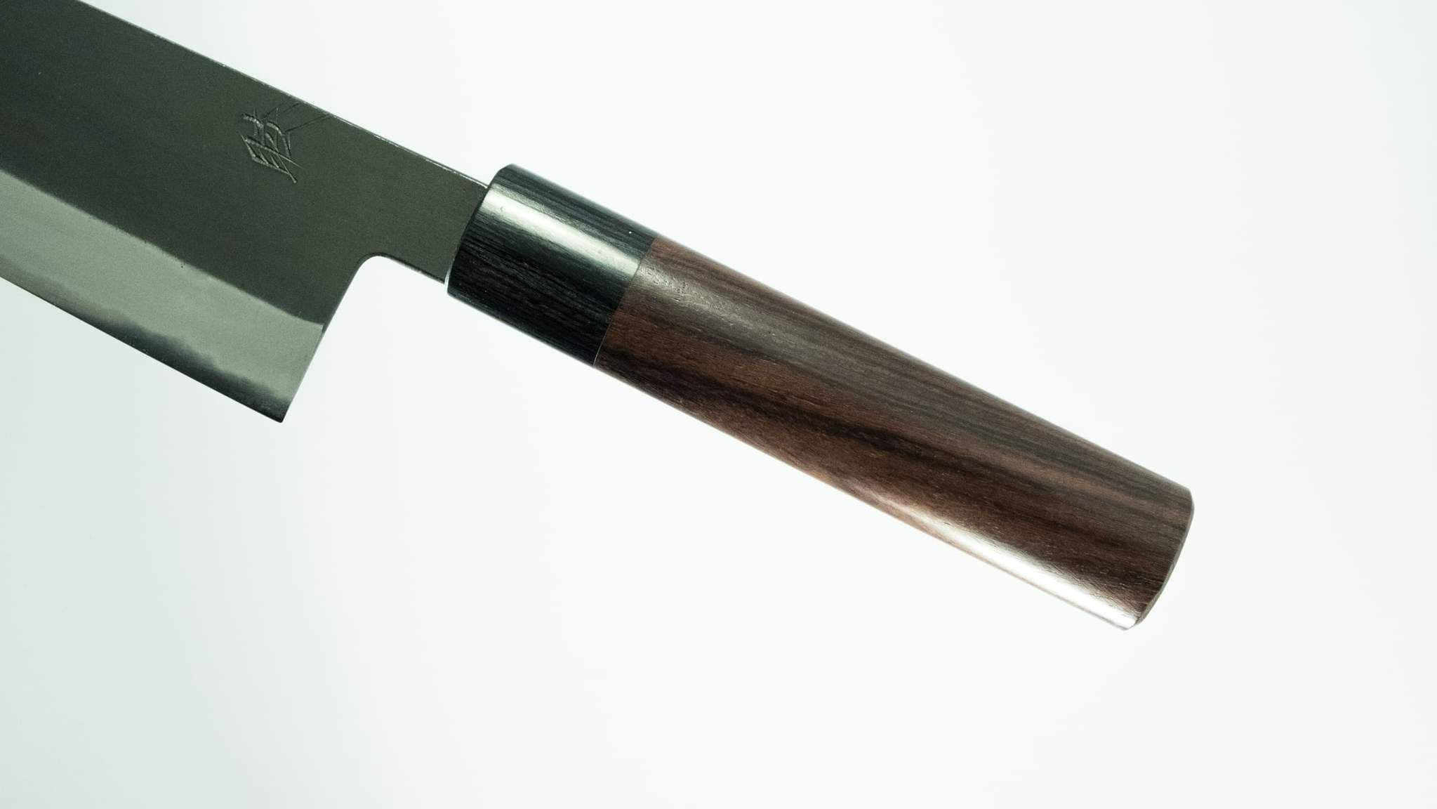 Mutsumi White White Steel 2 Wa-Gyuto 210mm Rosewood Handle japanese kitchen knife