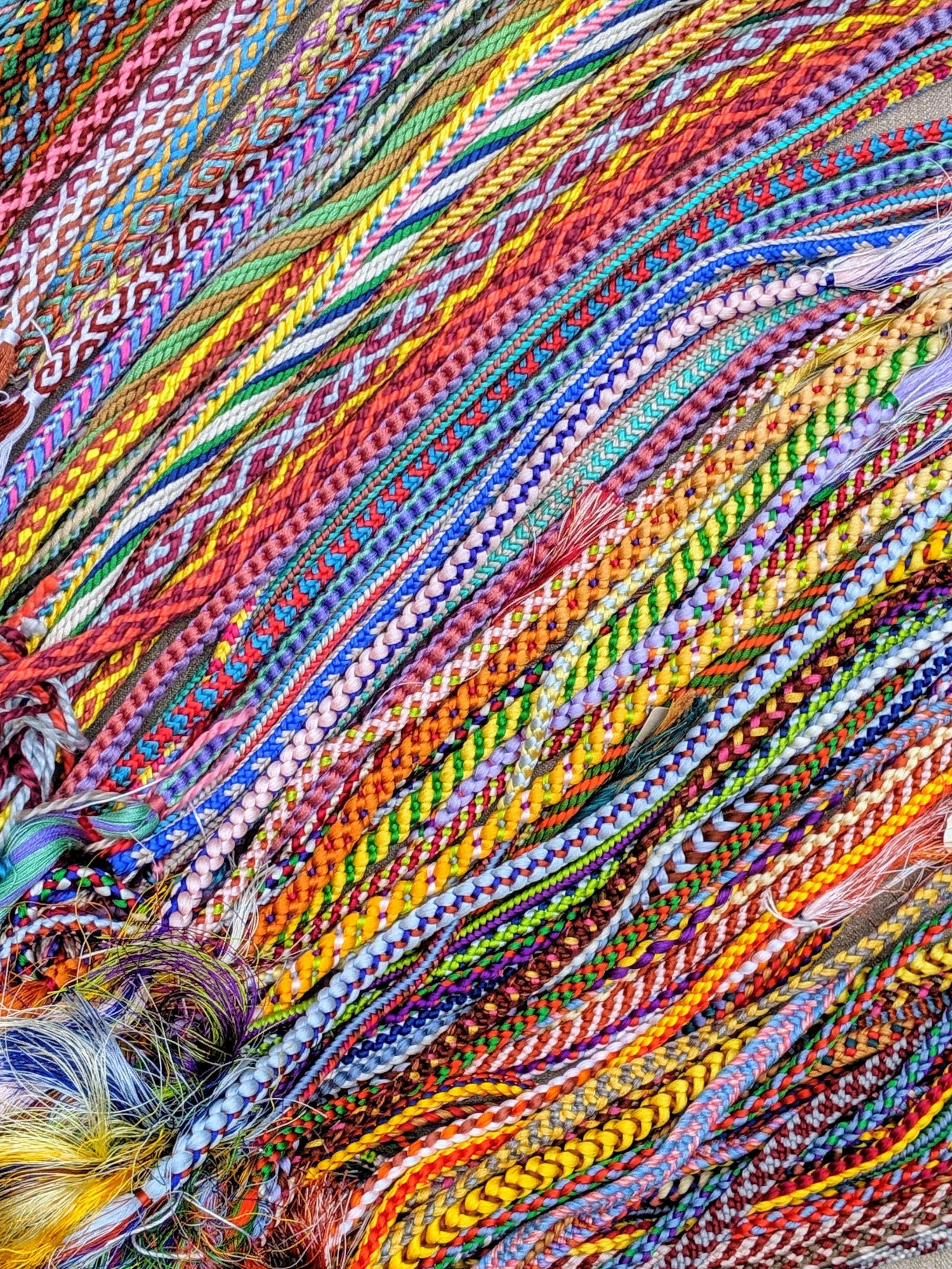 Marudai braids from Braids 250 Patterns from Japan, Peru, and Beyond