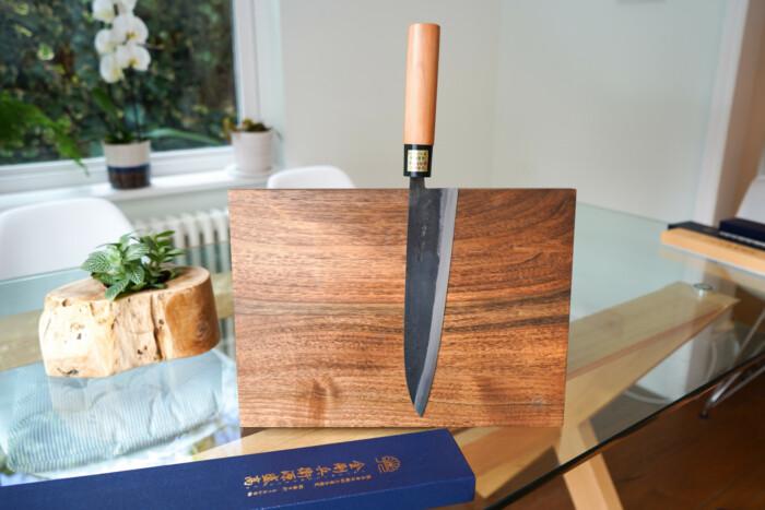 moritaka gyuto aogami super 210mm japanese kitchen knife