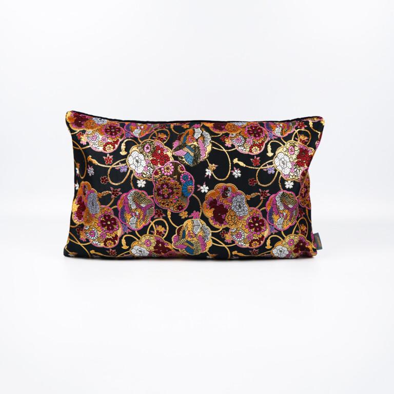 cushion cover kimono silk - Kiki