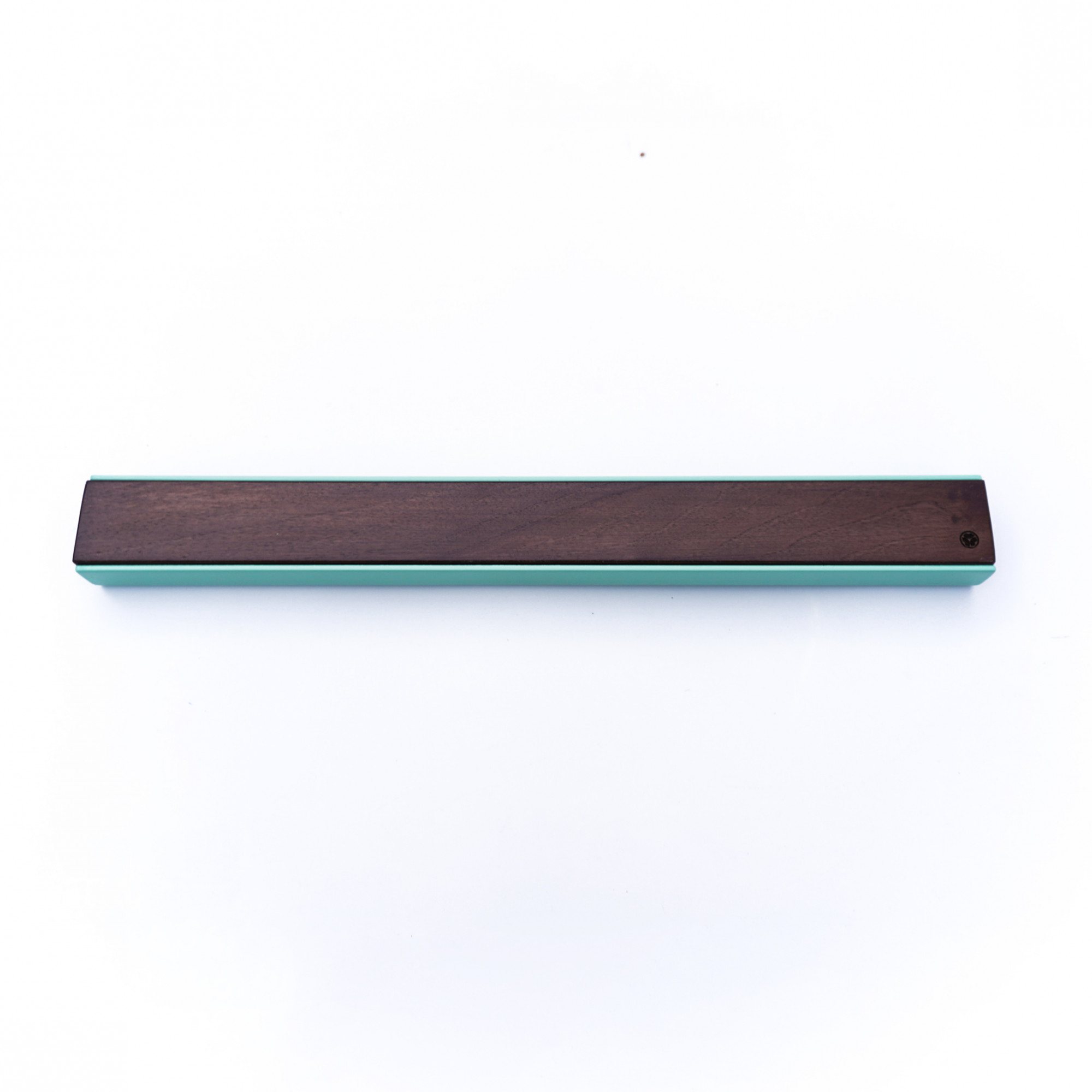 Wall Mounted Magnetic Wood Knife Rack Kitchen Premium walnut green rack