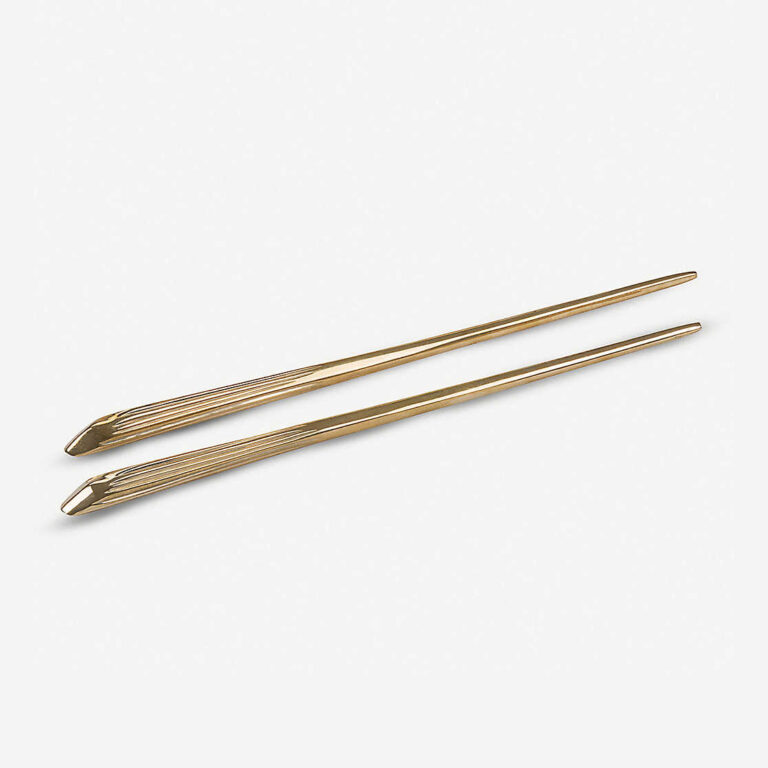 brass chopsticks luxury set