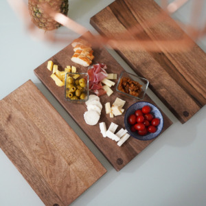 Dark Walnut kitchen cutting board- Small, Medium and Large