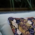 Cushion Cover Japanese Silk edge