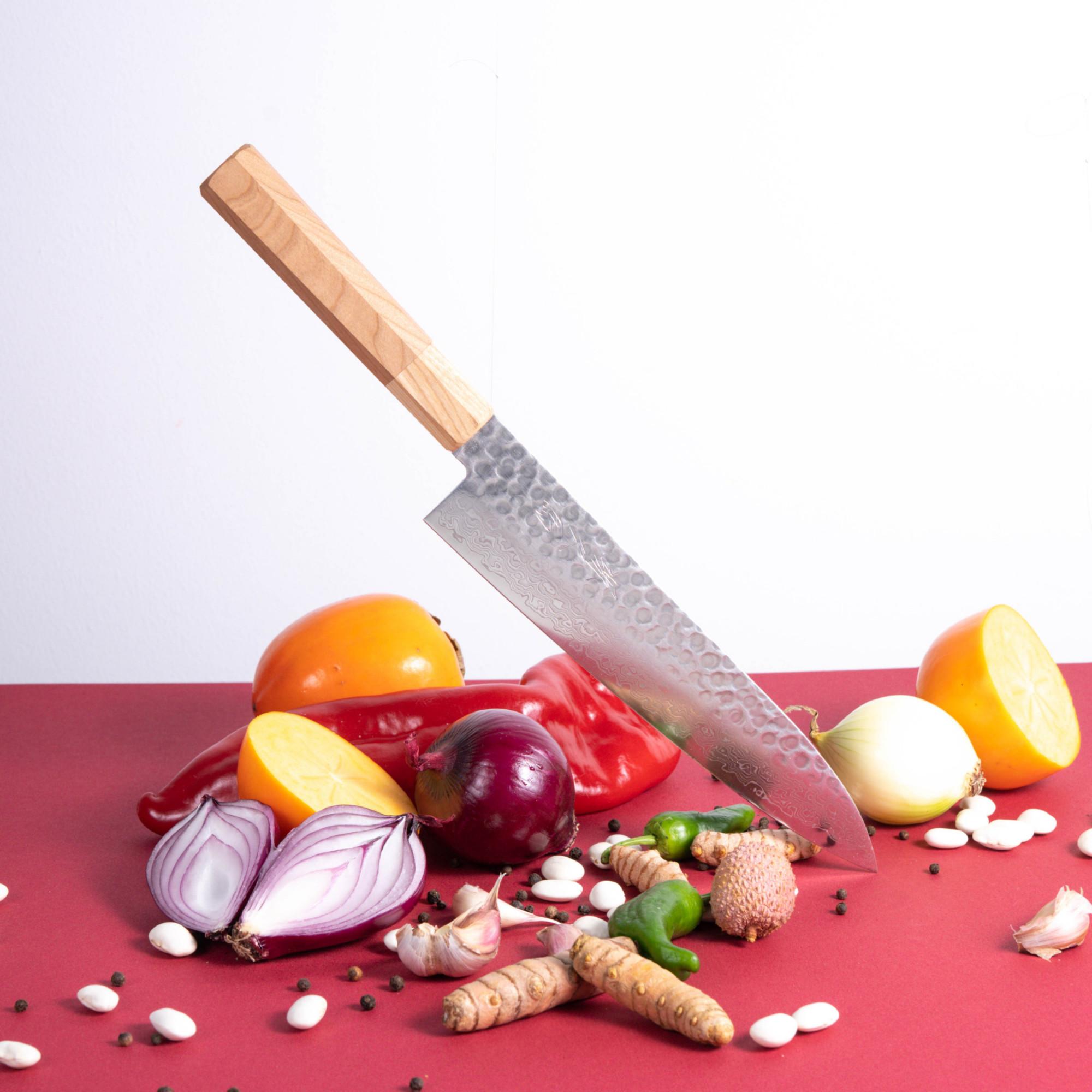 sakai kyuba classic cherry gyuto chefs knife japanese quality knives