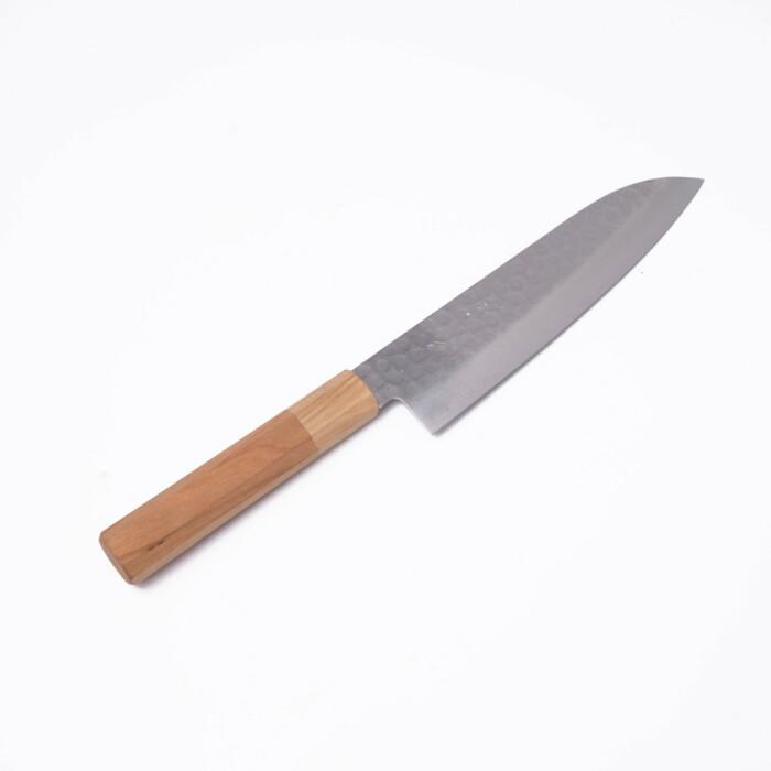 sakai kyuba santoku cherry handle japanese knife stainless steel vg10