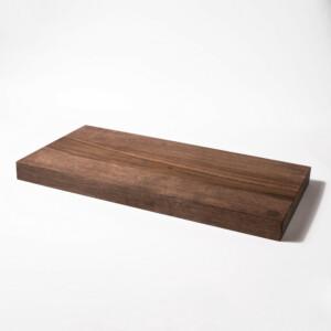 Dark Walnut Kitchen Cutting Board – Large