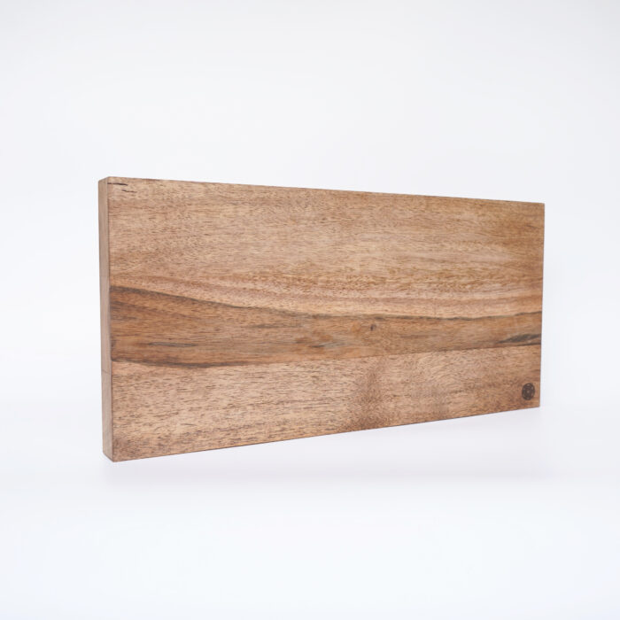 Dark Walnut Kitchen Cutting Board – Large, diagonal
