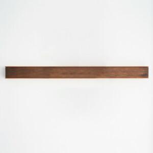 Wall Mounted Magnetic Wood Knife Rack - Walnut Copper 70