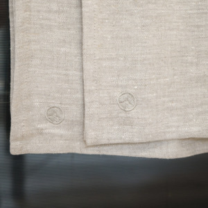 Kitchen Linen Set Of 6 Tea Towels – Natural - Japana Logo