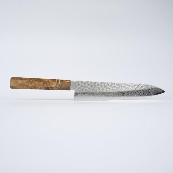 Sakai Kyuba – Chef's Knife 21cm The Gyuto – Natural Brown