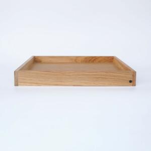 Signature Wooden Tray – Oak: Small