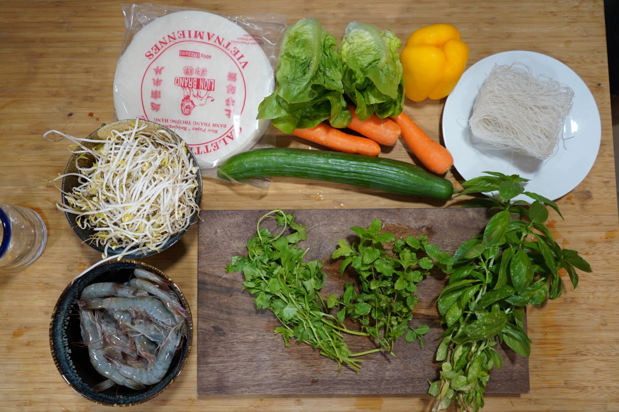 sumer rolls recipe preparation